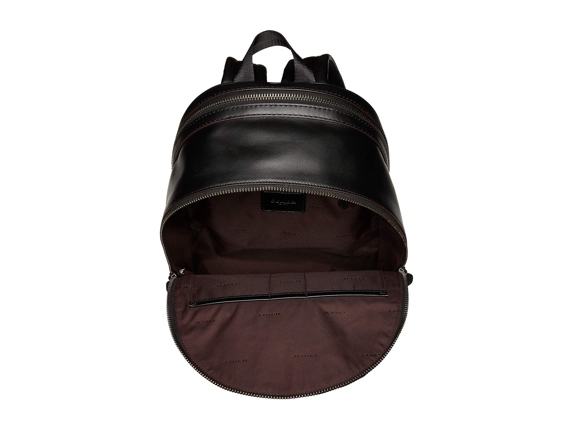 Leather Backpack Signature In Coach Black Academy awT7OaqxR