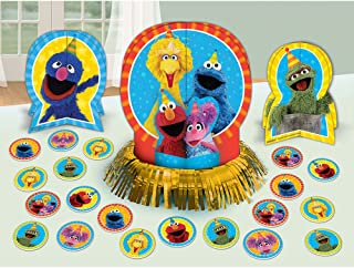 amscan Table Decorating Kit   Sesame Street Collection   Party Accessory