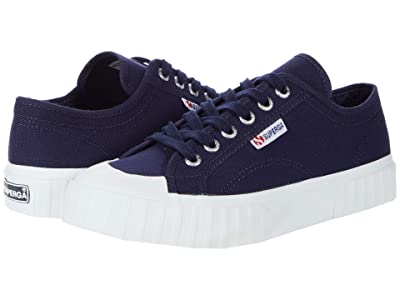Superga 2630 Cotu (Navy/White) Women