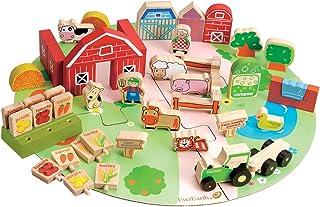 EE32684 53pc Organic Farm Playset
