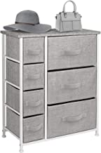 Sorbus Dresser with Drawers - Furniture Storage Tower Unit for Bedroom, Hallway, Closet, Office Organization - Steel Fram...