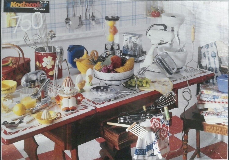 Cozy Kitchen Jigsaw Puzzle by KODAK