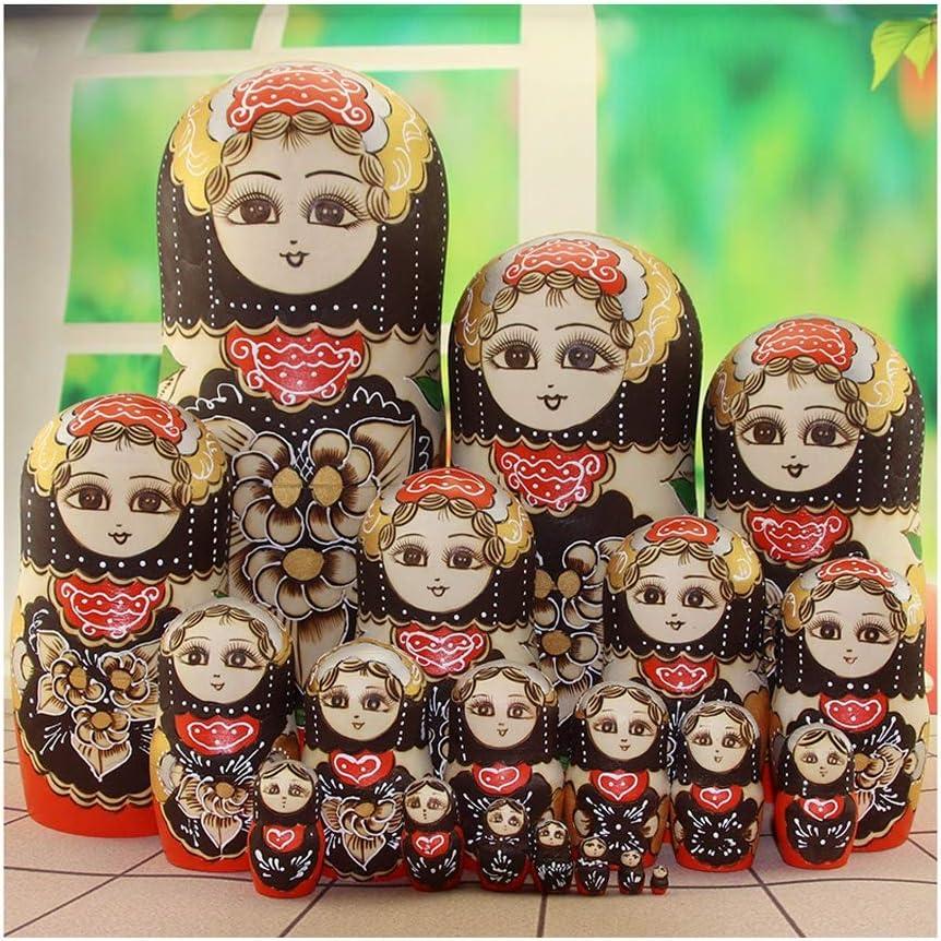 ALviso Russian Nesting Dolls Wo Layers Handmade Award-winning store Max 41% OFF 20