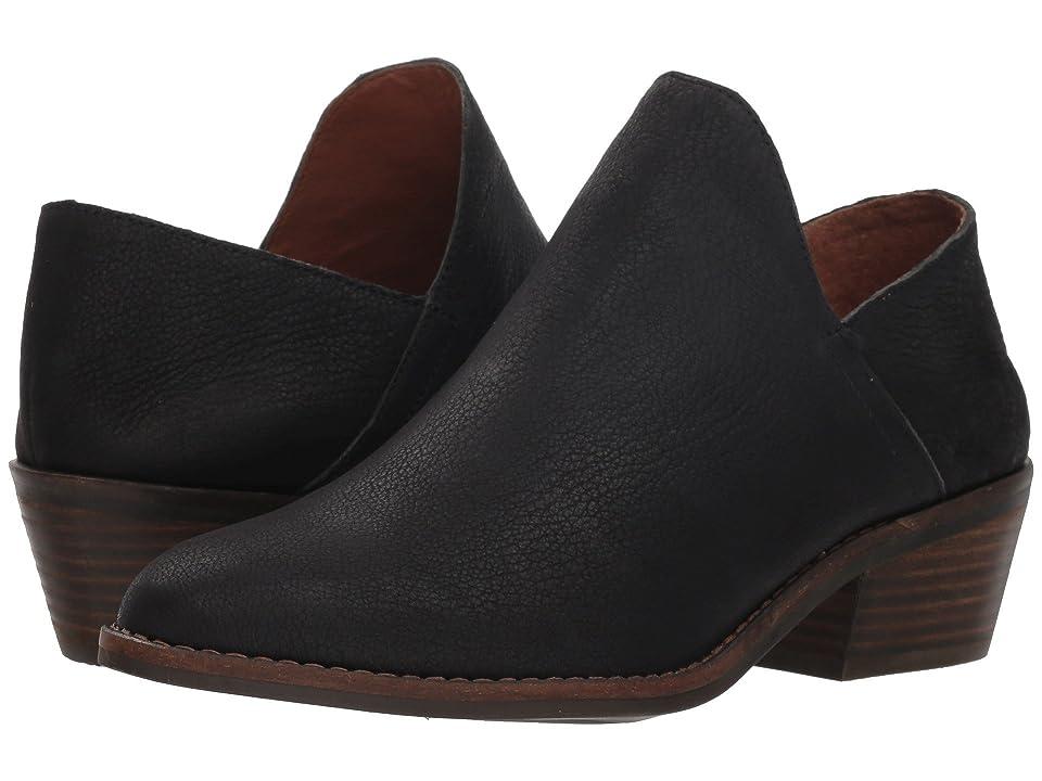 Lucky Brand Fausst (Black Leather) Women