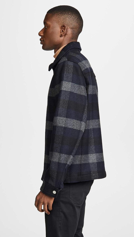 Theory Men's Wyatt Mosaic Plaid Jacket