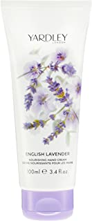 Yardley of London Nourishing Hand & Nail Cream for Women, Yardley English Lavender, 3.4 Ounce