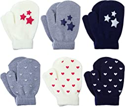 baby knitted gloves