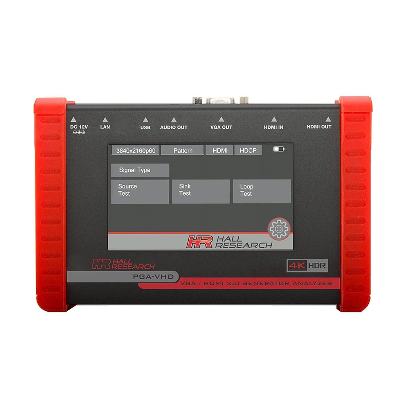 Hall Research PGA-VHD | HDMI VGA Video Generator Tester and Analyzer