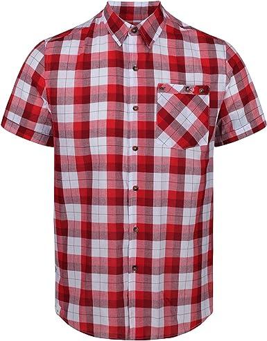 Regatta Ramiro Camisa Manga Corta para Hombre: Amazon.es: Ropa