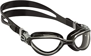 Cressi Thunder Professional Adult Swim Goggles with Wide View Ergonomic Anti-Scratch Lens   Made in Italy by Cressi