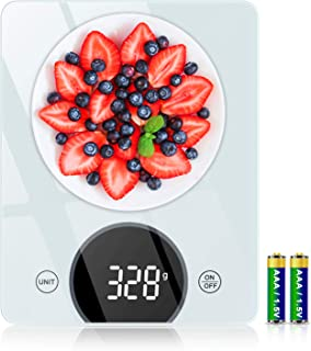 Cocoda Balance Cuisine, 10kg Balance de Cuisine Électronique avec Précision de 1g & 4 Unités de Pesée, Fonction Tare, 21x1...