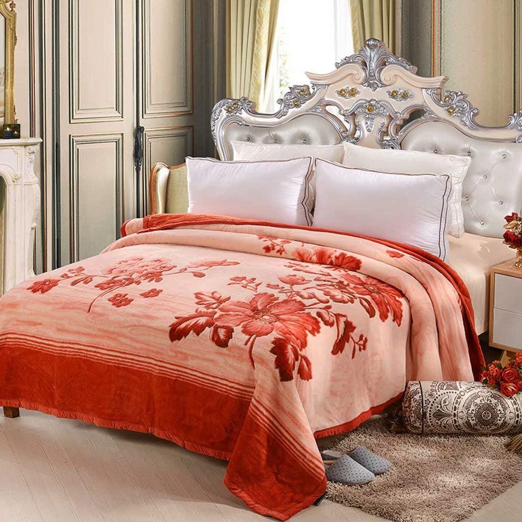 fscz Blanket Plush Cheap SALE Start Velvet Max 70% OFF Winter Thickening Fleece Nap B