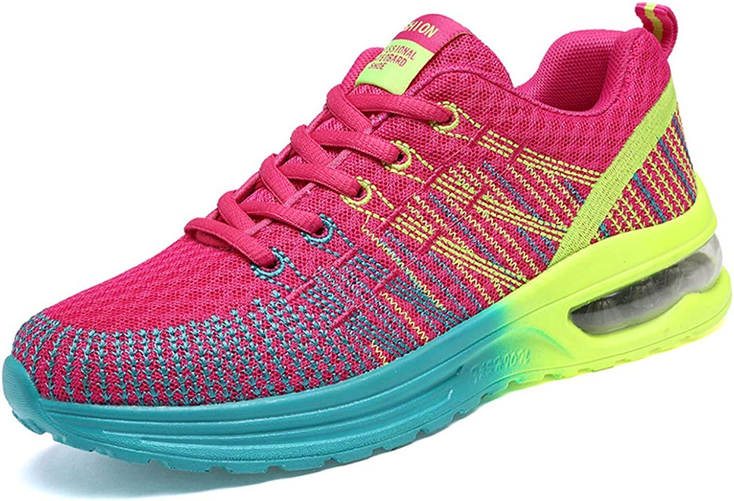 ASO-SLING Women's Mesh Breathable Fashion Sneaker Air Cushion Running Training Athletic Sport shoes