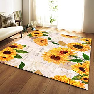 FHSY Nordic Carpets Soft Flannel 3D Printed Area Rugs Parlor Galaxy Space Mat Rugs Anti-slip Large Rug Carpet for Living R...