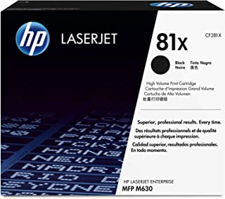 HP 81X   CF281X   Toner Cartridge   Black   High Yield