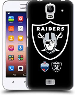 Official NFL Oversized Raiders 2019 London Games Hard Back Case Compatible for Huawei Y360 / Y3