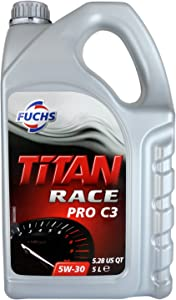 Fuchs Titan Race Pro Fully Synthetic 5W30 Engine Oil Litres