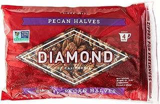 Diamond of California, Pecan Halves, Non GMO, No Added Salt, 16 oz.