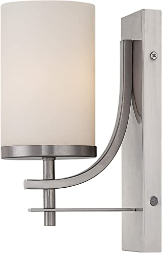 popular Savoy House 9-337-1-SN Colton 2021 Wall online Sconce in Satin Nickel online sale