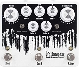 EarthQuaker Devices Palisades V2 Dual Overdrive and Boost Pedal