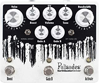 EarthQuaker Devices Palisades V2 Mega Ulitmate Overdrive Guitar Effects Pedal