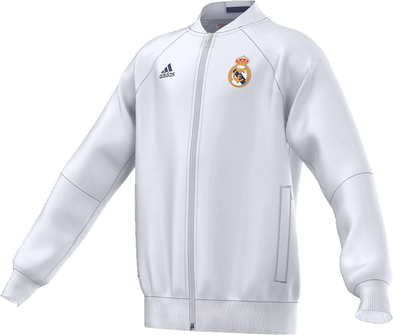 Adidas Adidas Adidas Real Madrid Anth JKT und Jacke, Weiß lilat B01HUVBZZU  Lassen Sie unsere Produkte in die Welt gehen 08037a