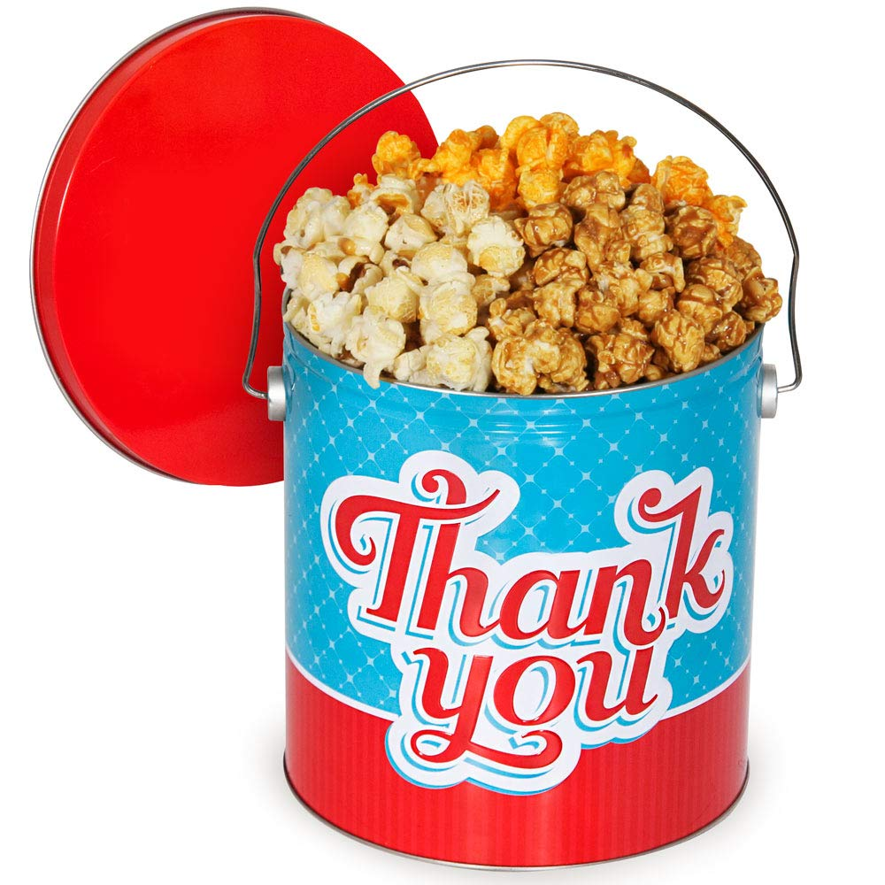 Thank You Outlet sale feature Popcorn Tin Milwaukee Mall Choice People's - Mix