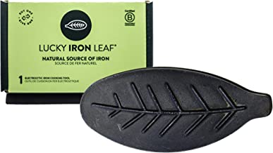 Lucky Iron Leaf, A Natural Source of Iron – A Cooking Tool to Add Iron to Food and Water, Reduce Iron Deficiency Without S...