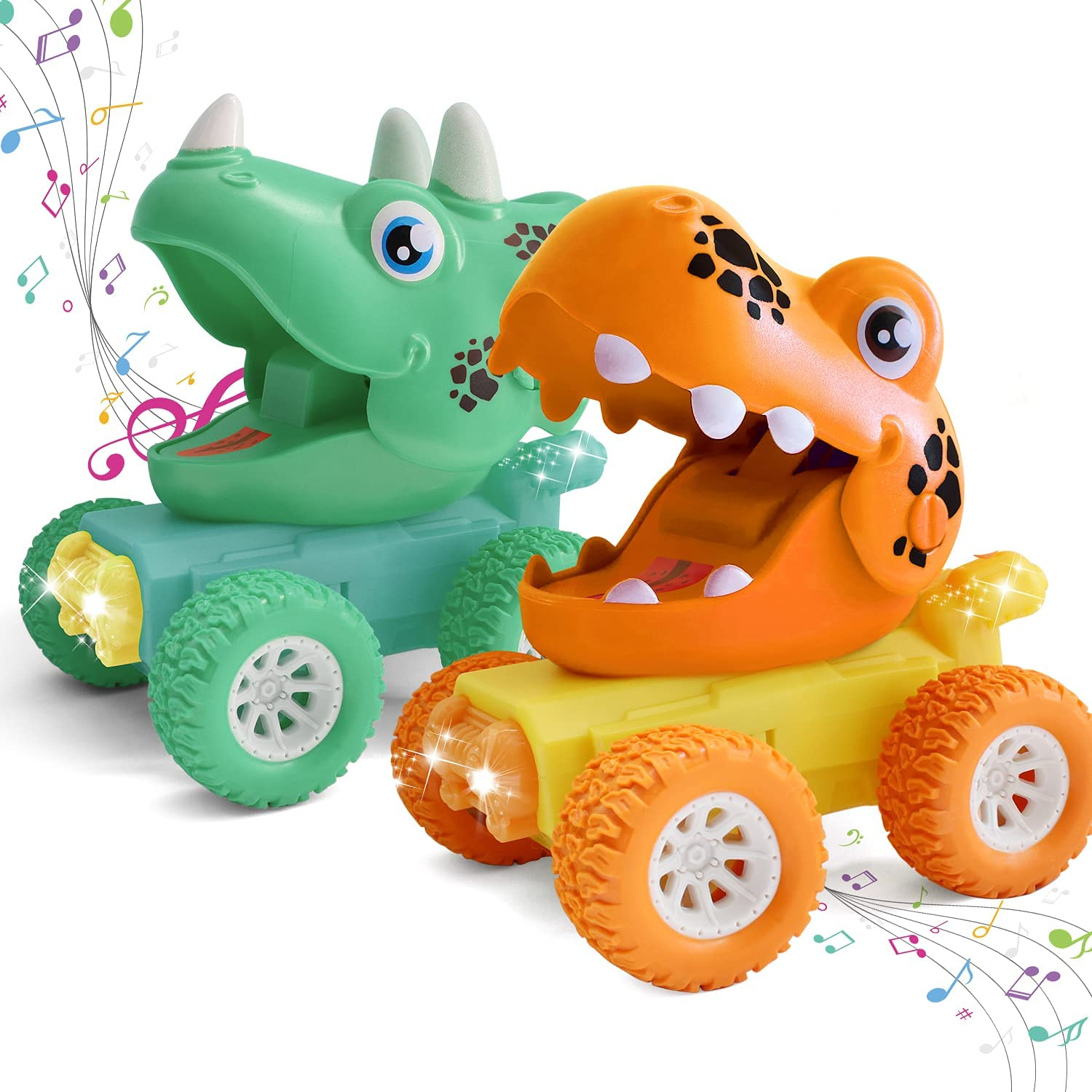 Dinosaur Toys for 2 3 4 Indefinitely 5 Year Cars LED Japan's largest assortment Boys Old with