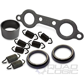 Exhaust Pipe Manifold Gasket Spring Rebuild Kit for 2008-2010 Polaris RZR 800 Not fit the RZR-S or RZR-4 chassis