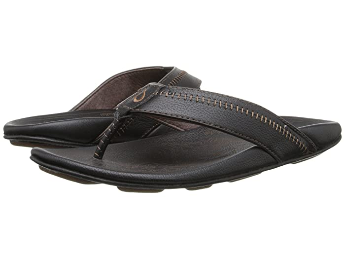 Hiapo  Shoes (Black/Black) Men's Sandals