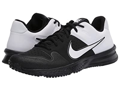 Nike Alpha Huarache Varsity Turf (Black/White) Men