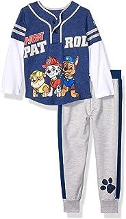 Nickelodeon Boys` Toddler Paw Patrol 2 Piece Fleece Set