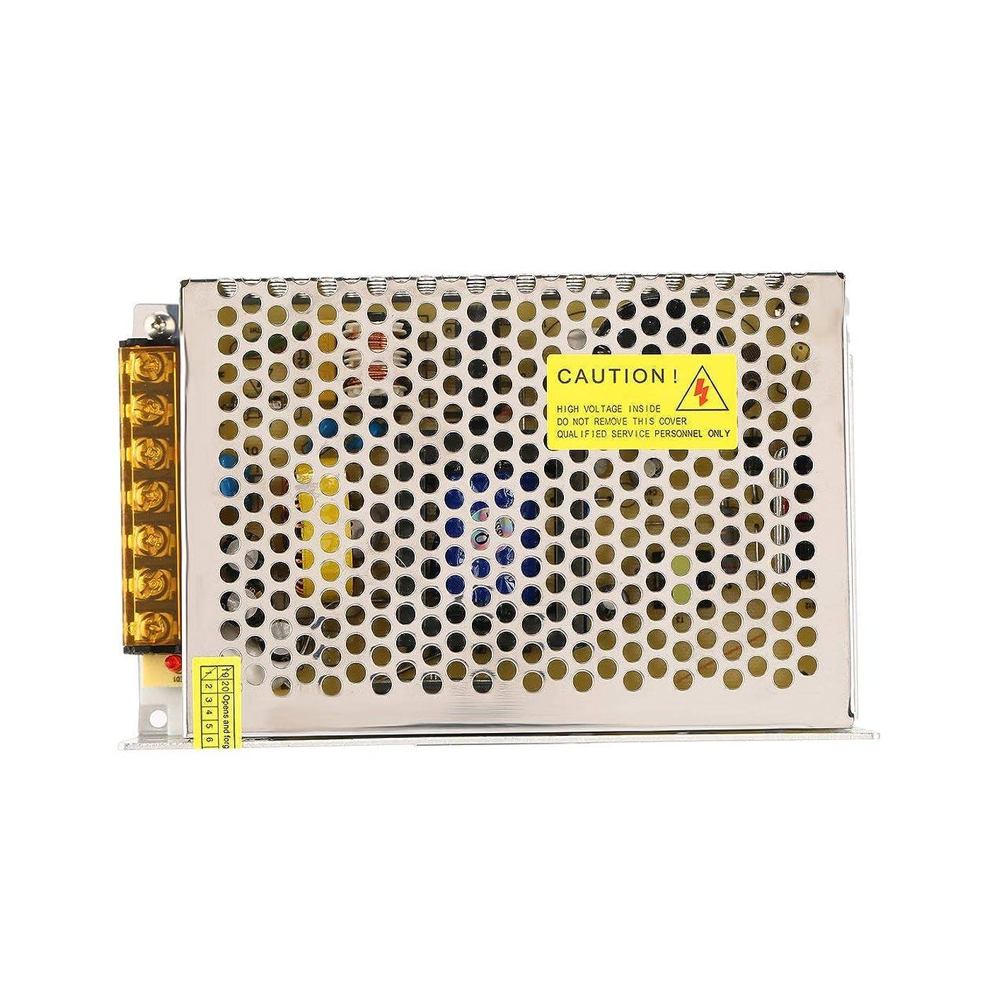 退屈つまずくアンビエントDC 24V 200W LED電源スイッチ電流電圧ドライバアダプタスイッチング照明安定化変圧器定電圧(色:黒)