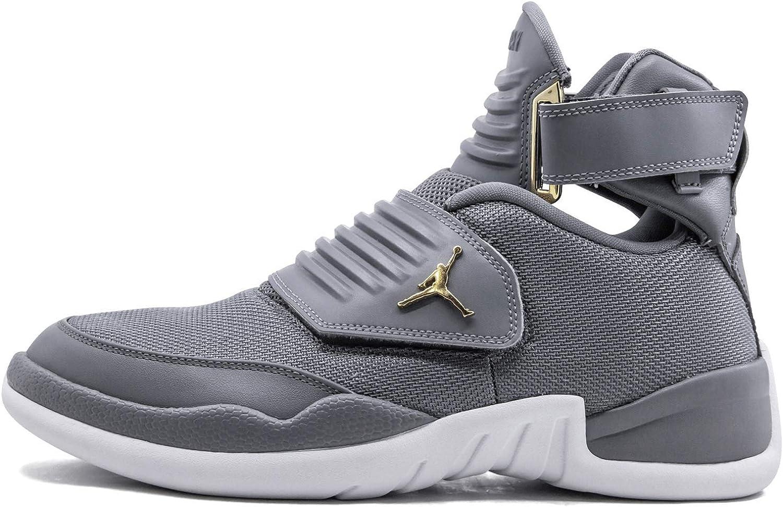 Nike Air Jordan Men's Generation 23 Basketball shoes (9.5, Cool Grey White)