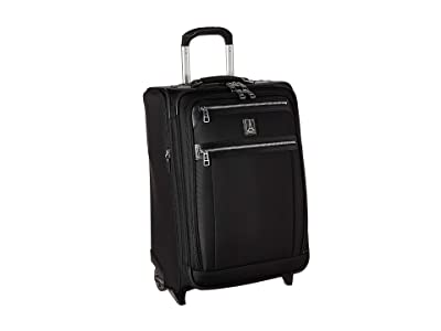Travelpro Platinum(r) Elite 22 Expandable Carry-On Rollaboard (Shadow Black) Luggage