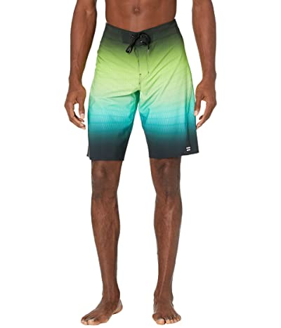 Billabong Fluid Pro 21 Boardshorts (Black Neon) Men