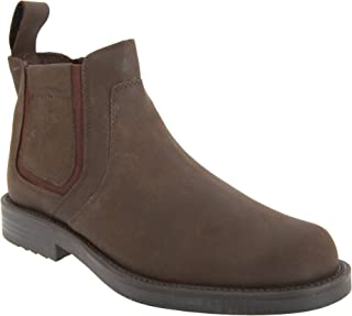 Mens Twin Gusset Softie Leather Dealer Boots