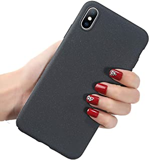Silicon Case iPhone Candy Color Soft Phone Case TPU Matte Back Cover,Gray,for iPhone Xs