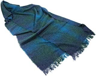 Ireland Wool Scarf Extra Long 84 Inches x 17 Inches Irish Made