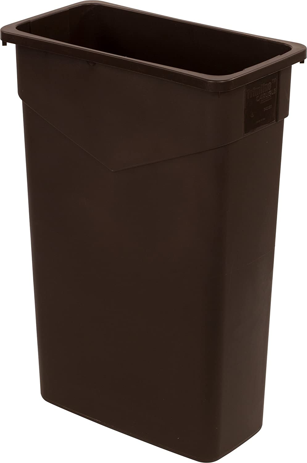 Carlisle 34202369 TrimLine High order Rectangle Waste Container Trash Louisville-Jefferson County Mall O Can