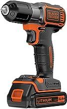 Black+Decker ASD14K-QW - Taladro atornillador 14.4 V Autosense Black+Decker