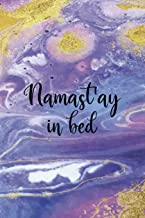 Namast'ay In Bed: Sleepy People Notebook Journal Composition Blank Lined Diary Notepad 120 Pages Paperback Colors