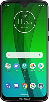 Amazon com: Moto G7 – Unlocked – 64 GB – Ceramic Black (US