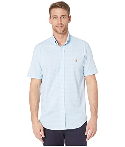 Polo Ralph Lauren Oxford Button-Up Shirt (Blue Multi) Men
