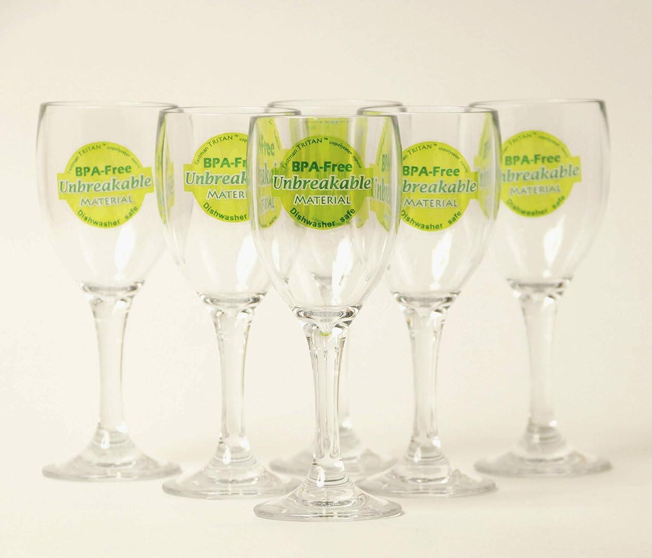 ロデオ急ぐ確認アームカンパニー トライタン ミニ ワイングラス クリア 5.4×15cm 120ml 割れにくい樹脂 アウトドア パーティー DITR0712-C6 6個入