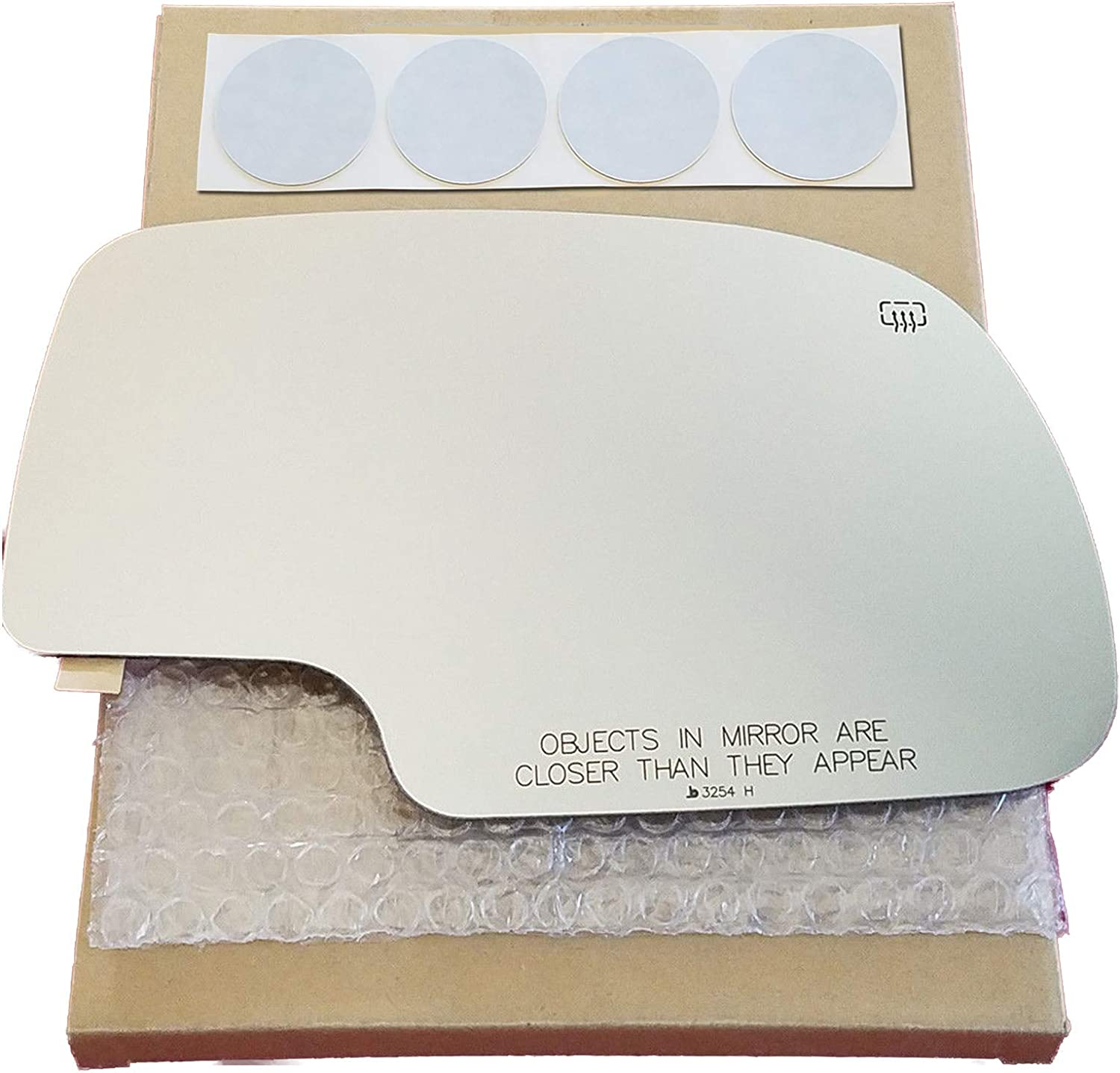 Mirror Glass Replacement + Adhesive Pads 2000-2006 Chevrolet New products world's highest quality popular for Product