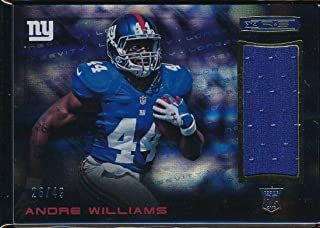 ANDRE WILLIAMS 2014 PANINI ROOKIES AND STARS #4 RC 26/49 JERSEY*NEW YORK GIANTS*