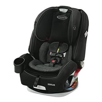 Graco Grows4Me 4 in 1 Car Seat, Infant to Toddler Car Seat with 4 Modes, West Point: image