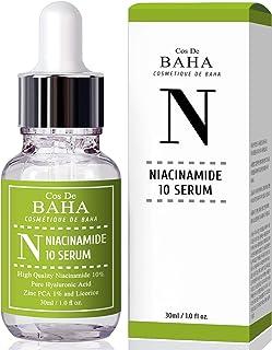 Niacinamide 10% + Zinc 1% Serum 1oz for Face - Korean Skin Care for Pore Minimizer + Vitamin B3.